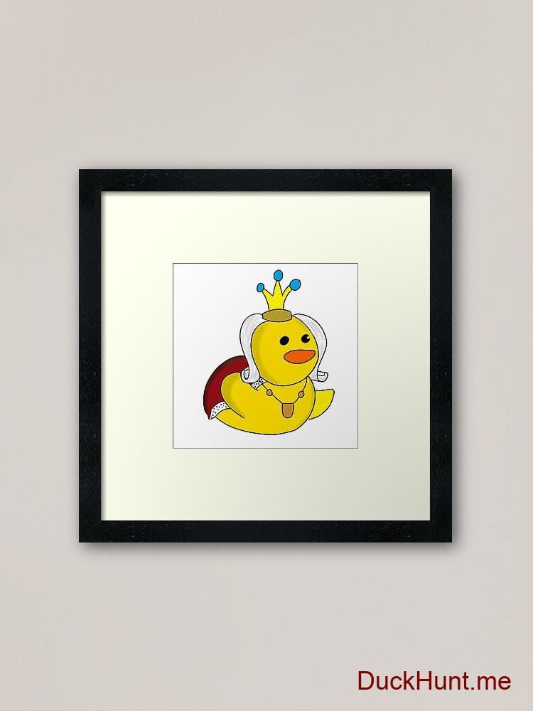 Royal Duck Framed Art Print alternative image 1