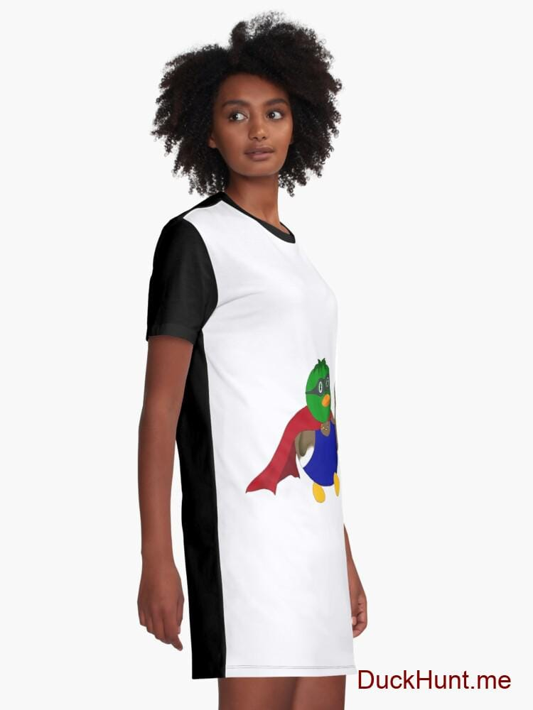 Alive Boss Duck Graphic T-Shirt Dress alternative image 1