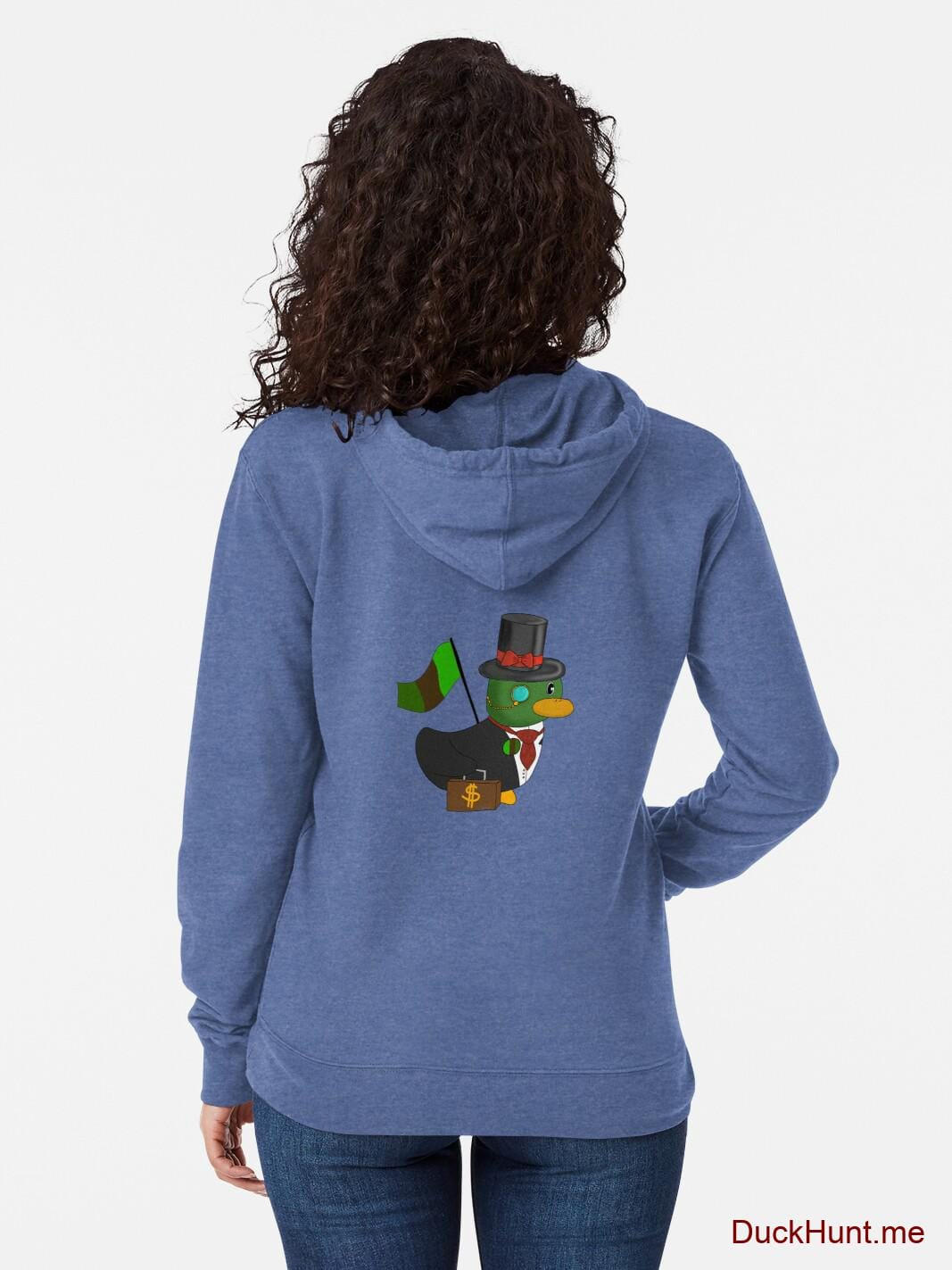 Golden Duck Royal Lightweight Hoodie (Back printed) alternative image 1