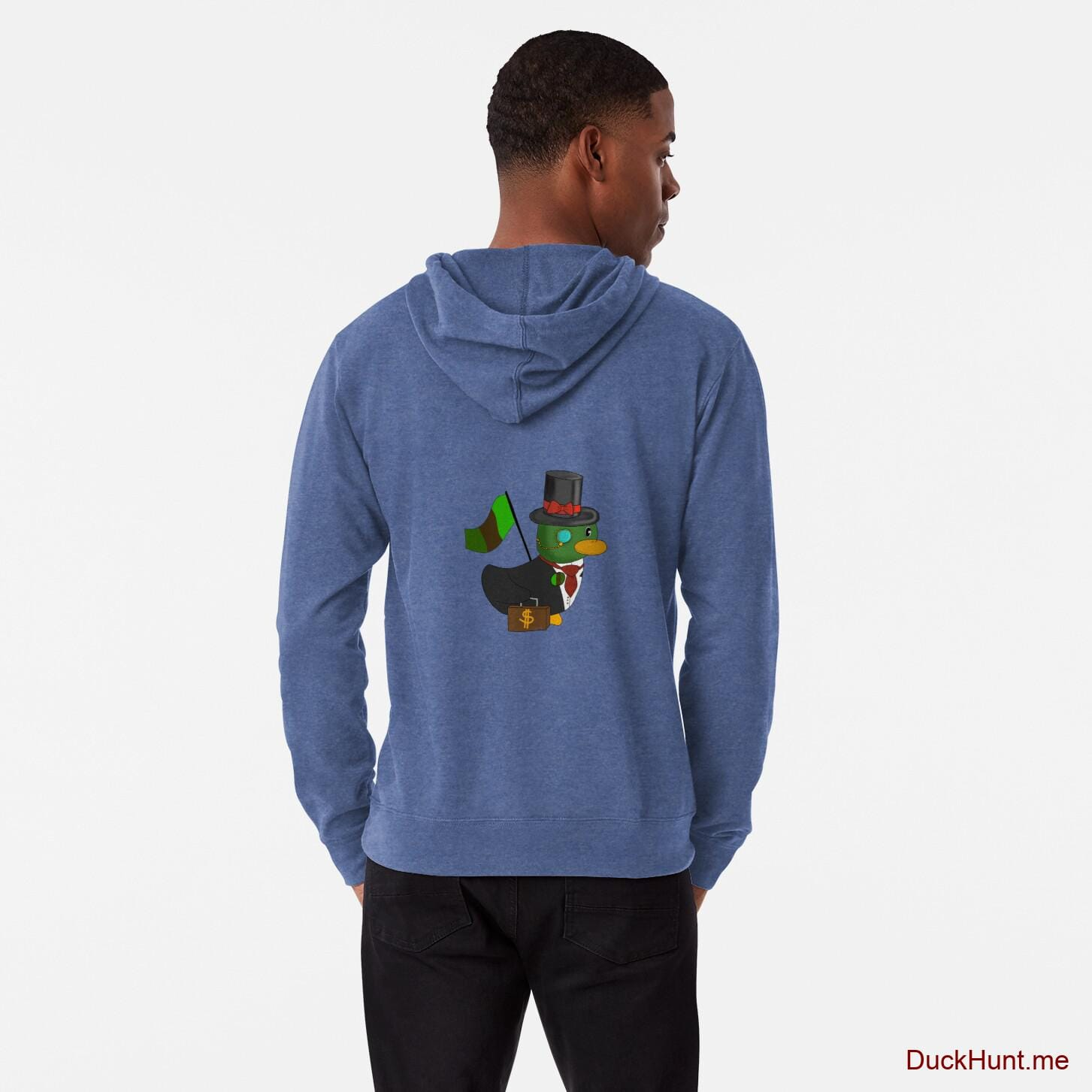 Golden Duck Royal Lightweight Hoodie (Back printed)