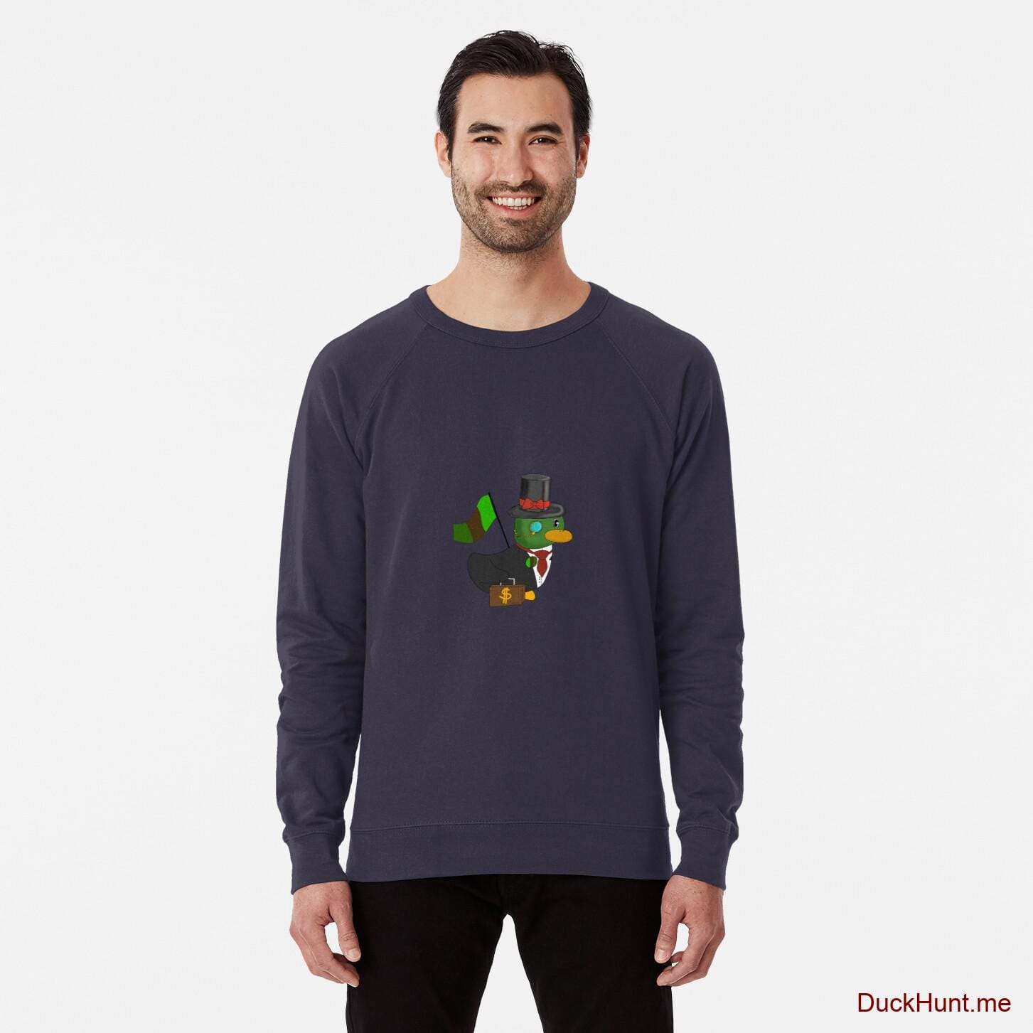 Golden Duck Navy Lightweight Sweatshirt