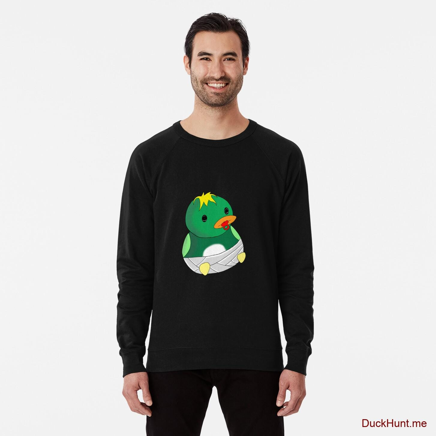 Baby duck Black Lightweight Sweatshirt