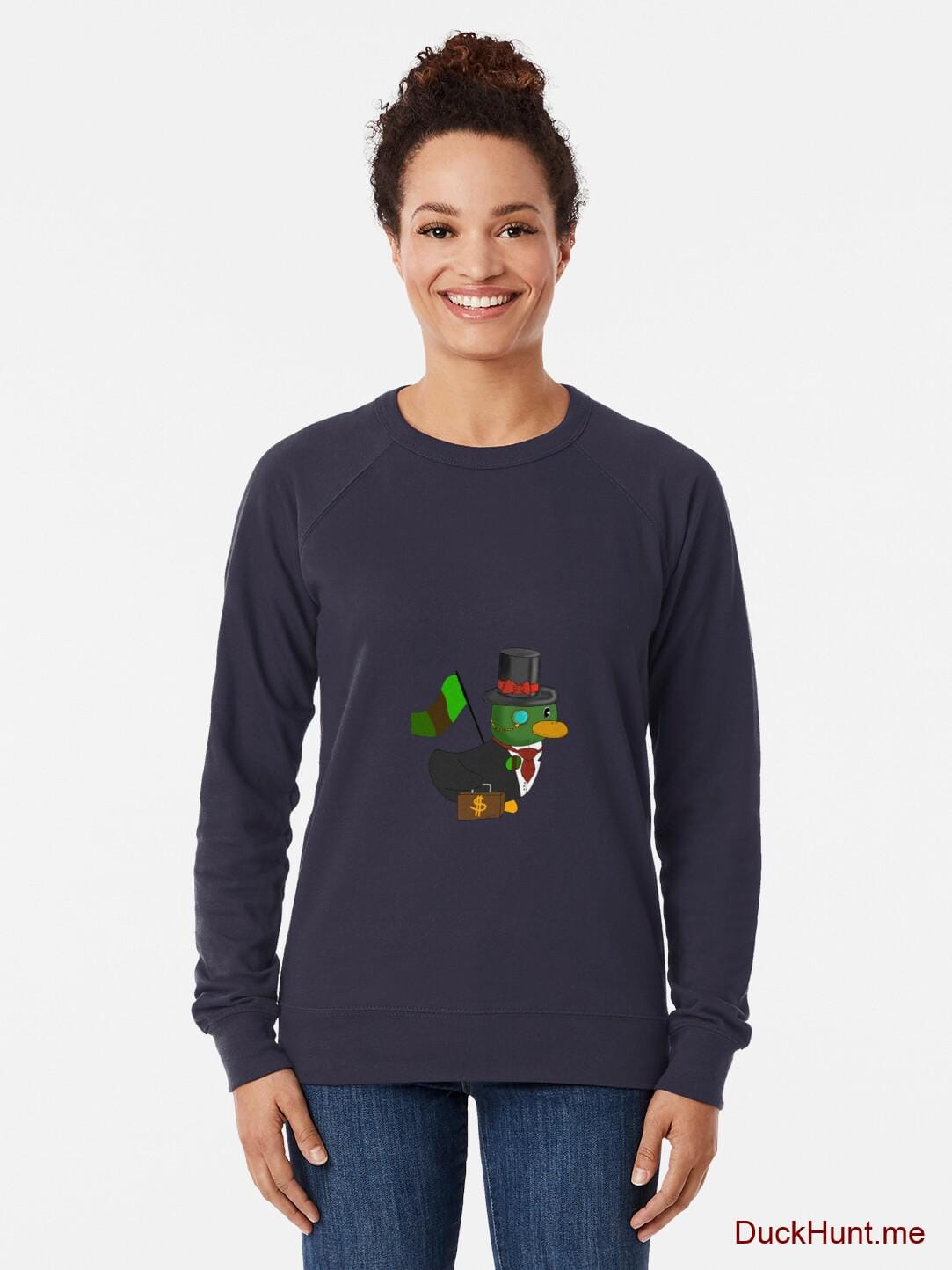 Golden Duck Navy Lightweight Sweatshirt alternative image 1