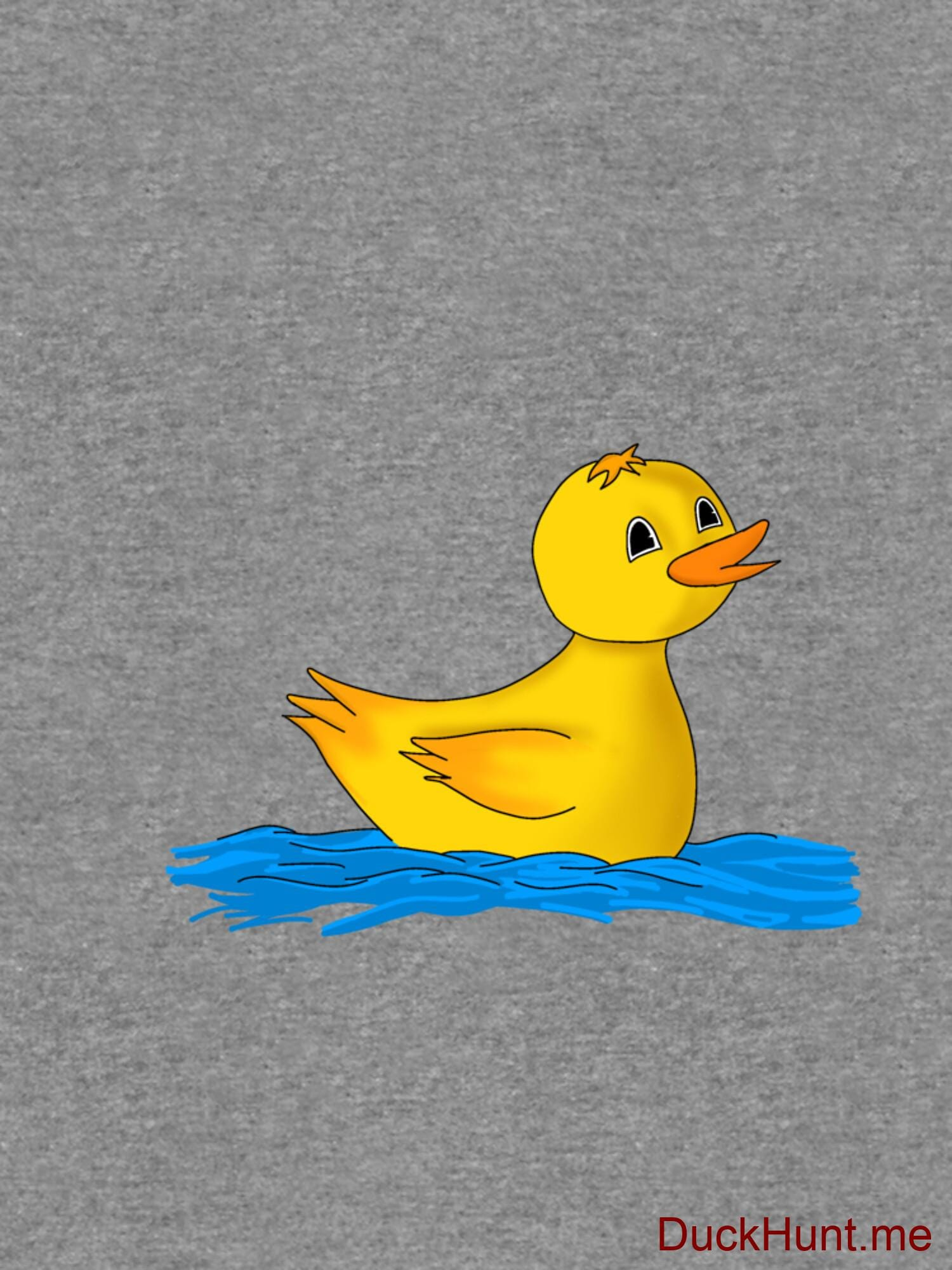 Plastic Duck Grey Lightweight Sweatshirt alternative image 2