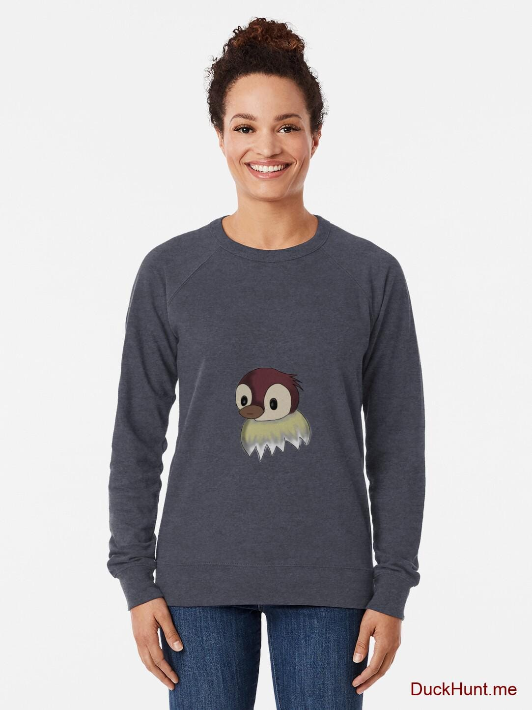 Ghost Duck (fogless) Denim Lightweight Sweatshirt alternative image 1