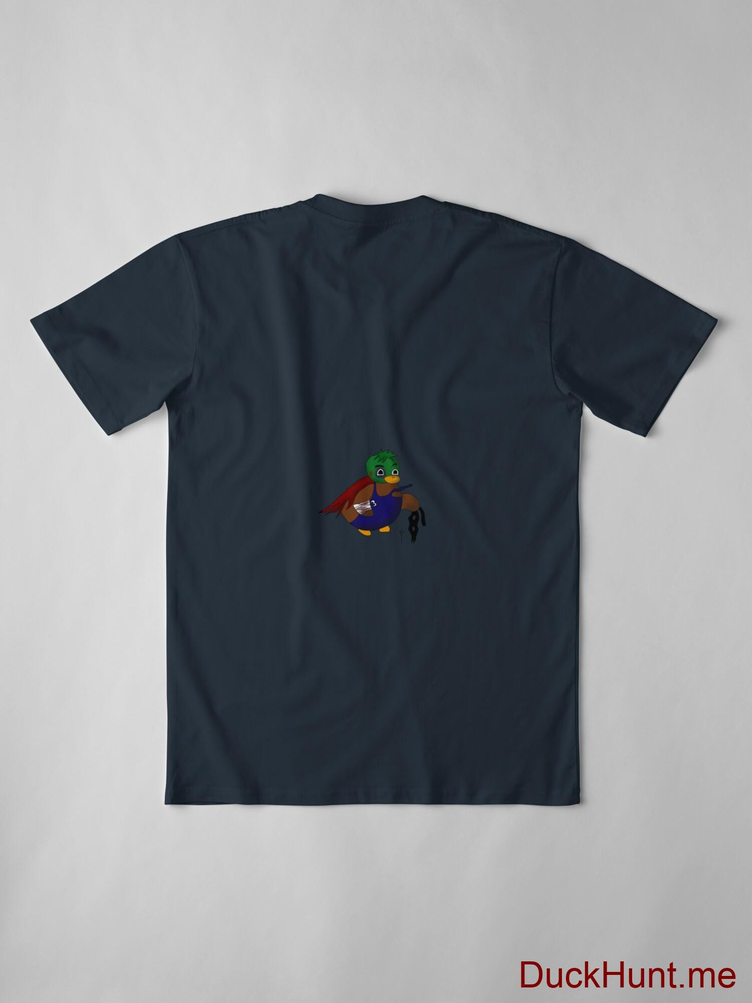 Dead DuckHunt Boss (smokeless) Navy Premium T-Shirt (Back printed) alternative image 2
