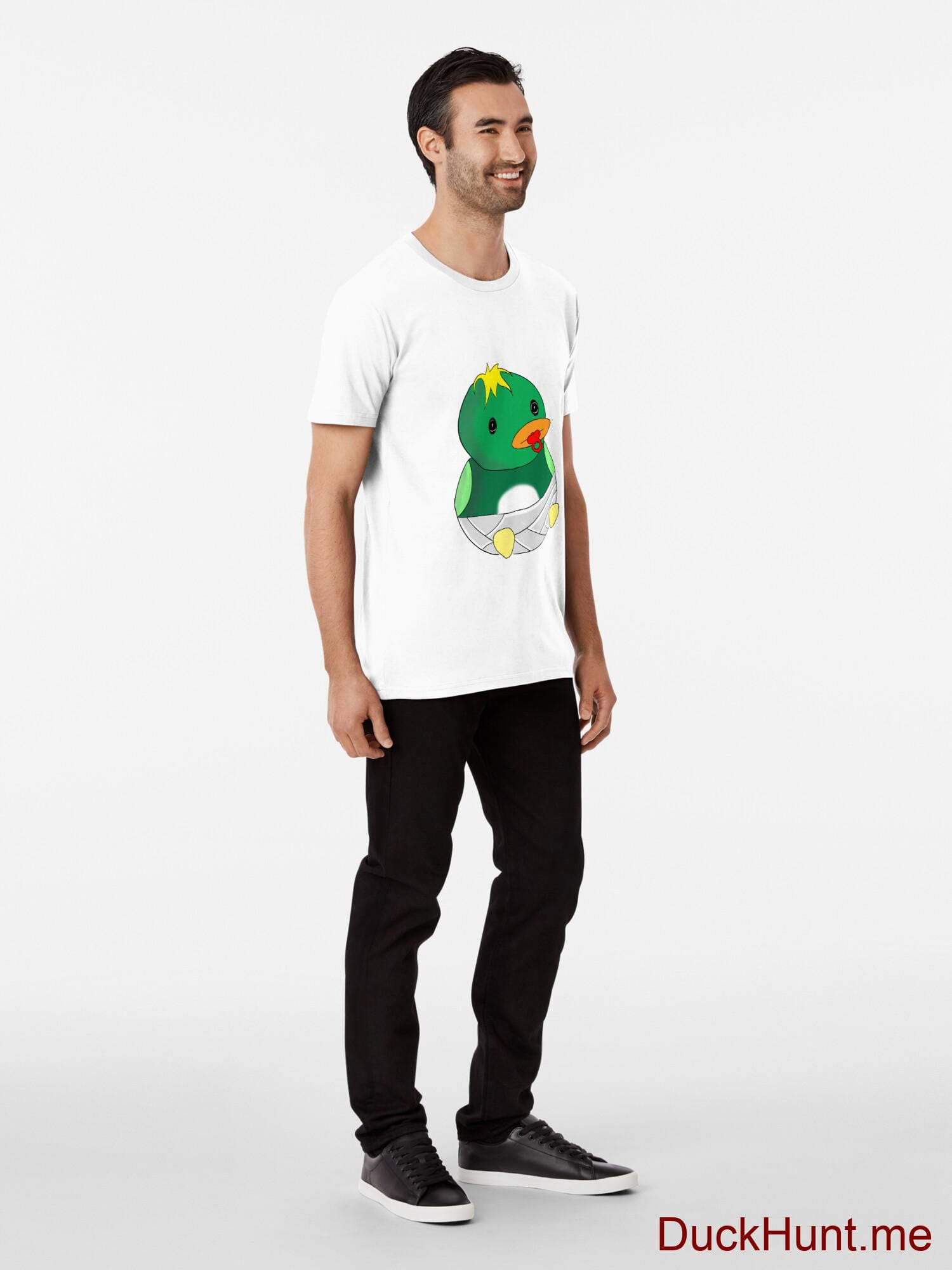 Baby duck White Premium T-Shirt (Front printed) alternative image 2