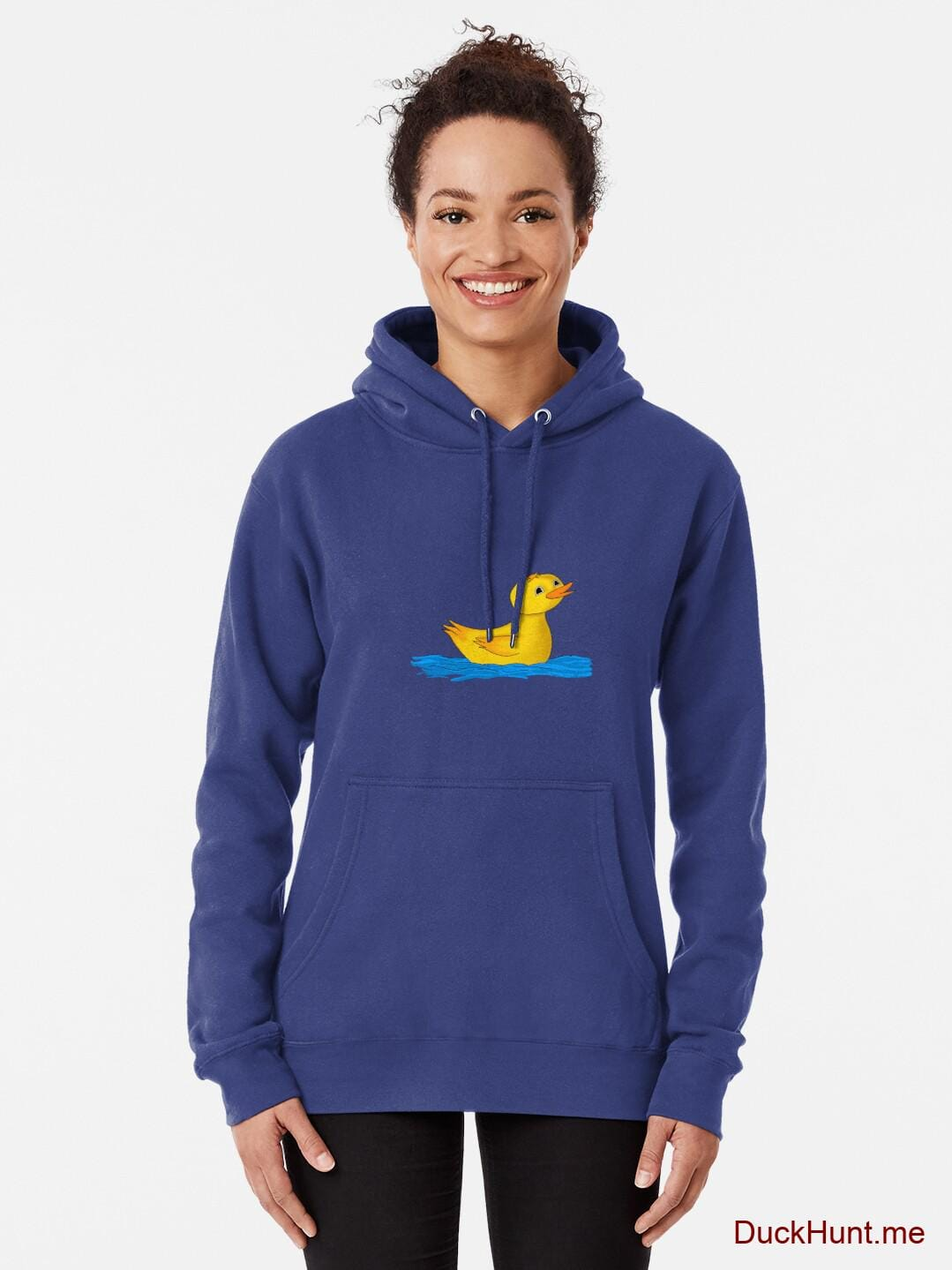 Plastic Duck Blue Pullover Hoodie (Front printed) alternative image 1