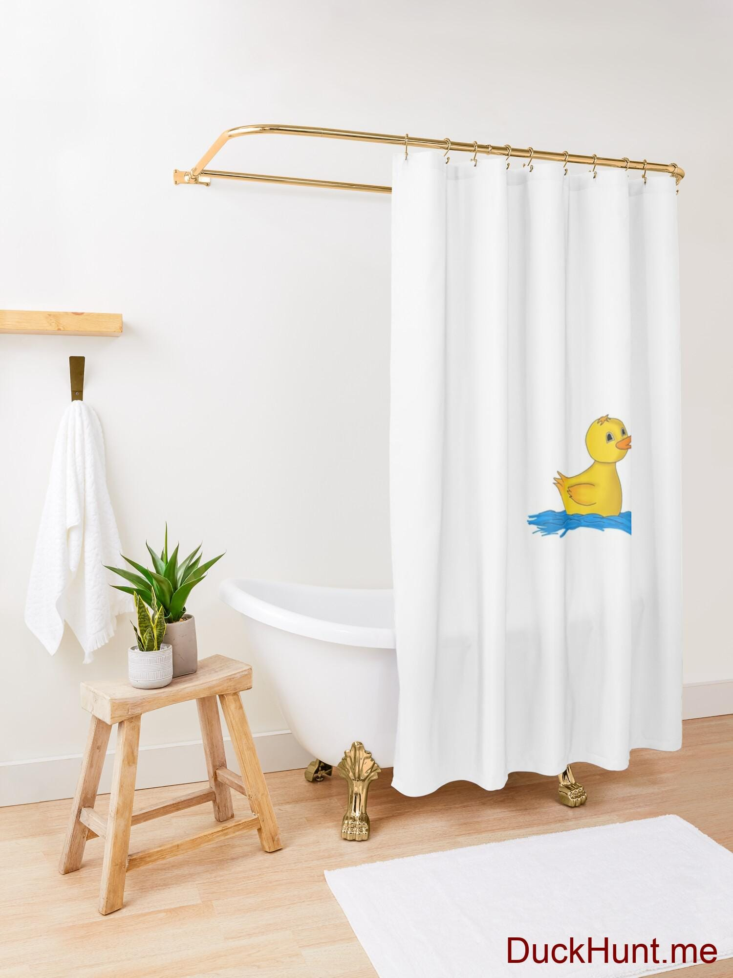 Plastic Duck Shower Curtain alternative image 3