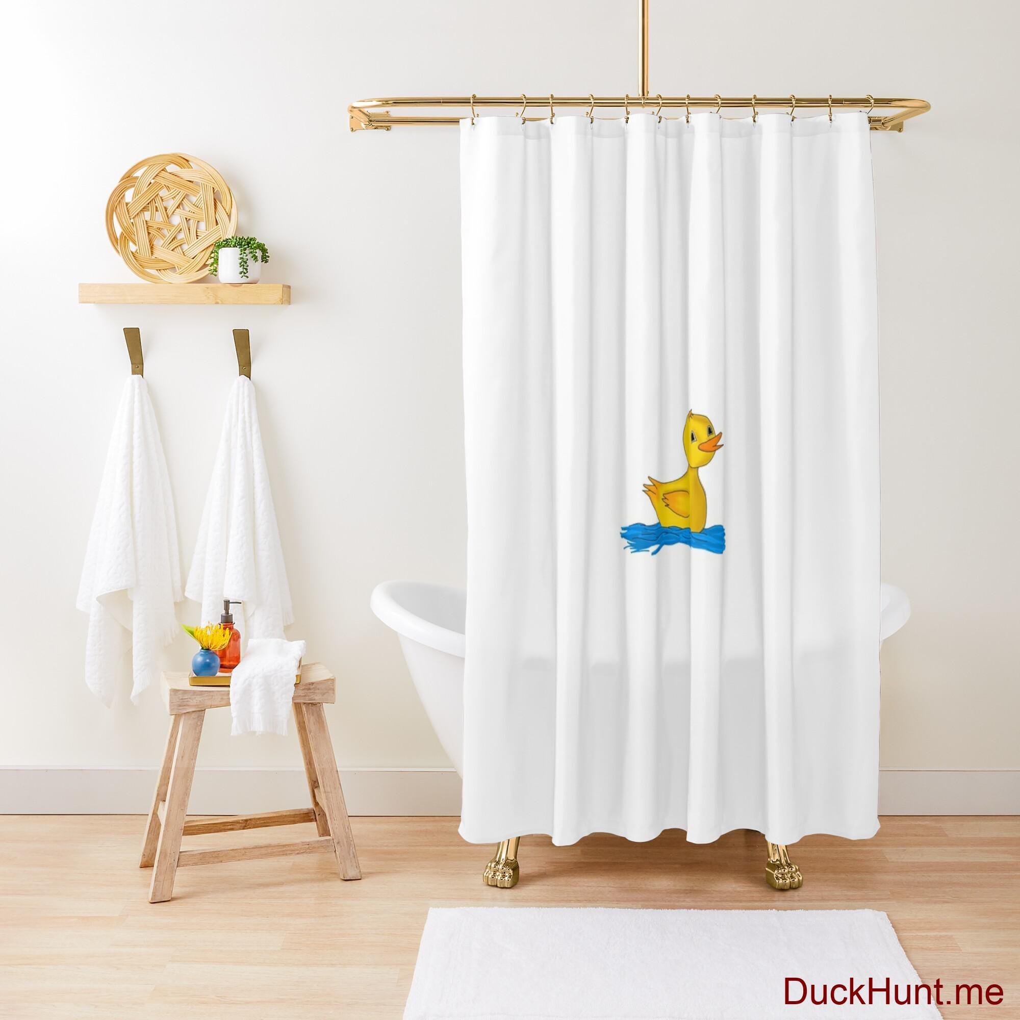 Plastic Duck Shower Curtain