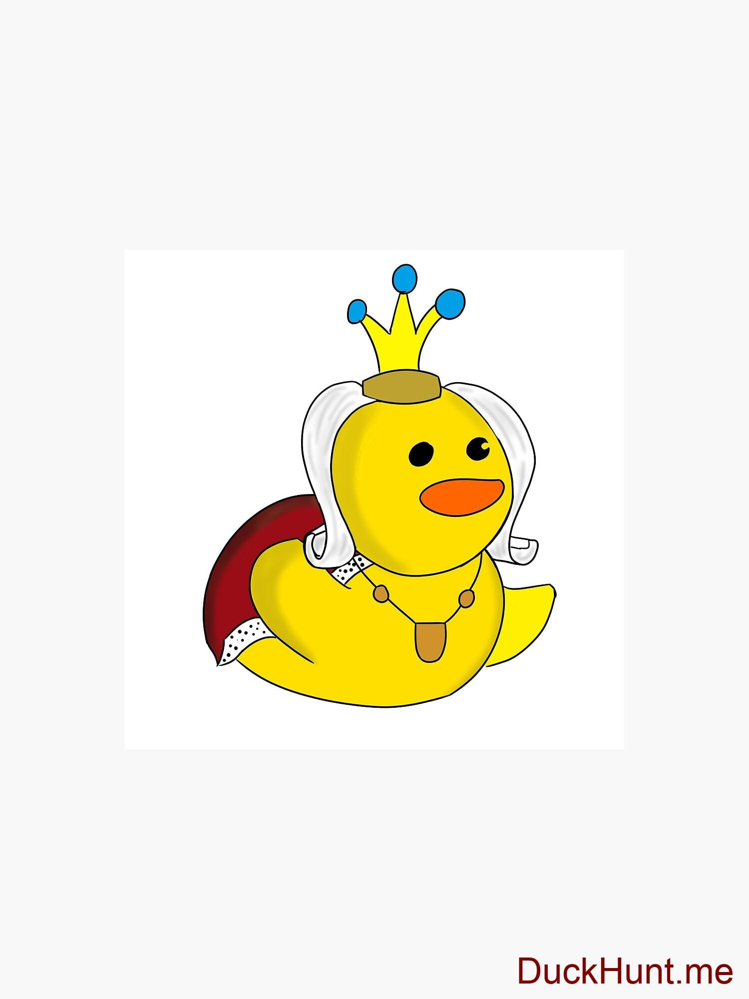 Royal Duck Throw Pillow alternative image 2