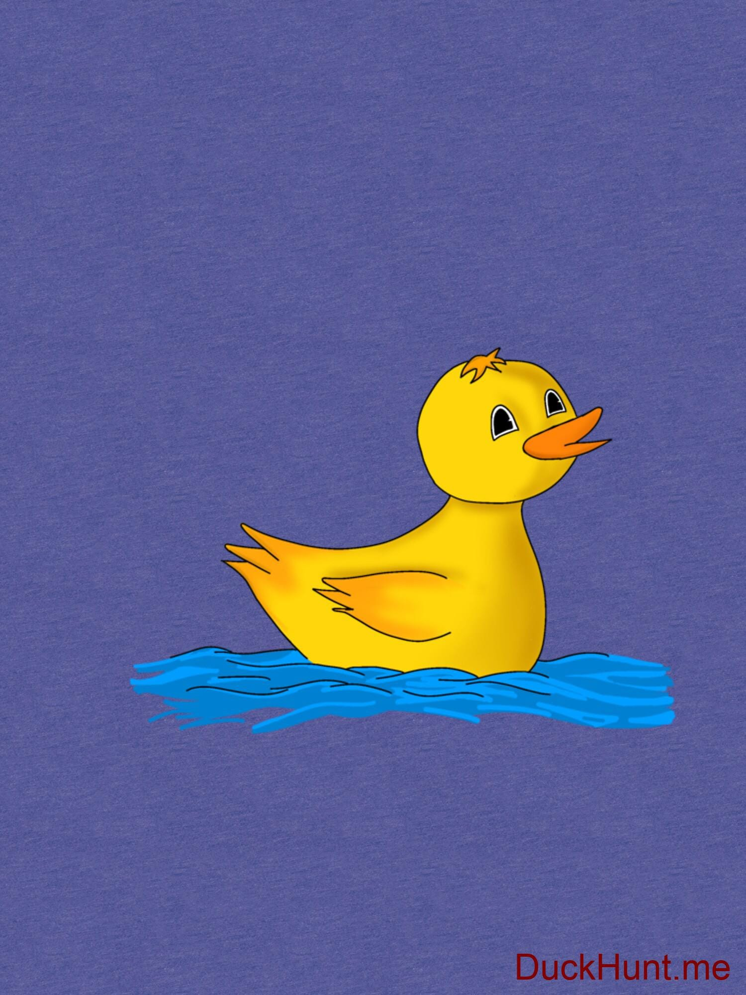 Plastic Duck Royal Tri-blend T-Shirt (Front printed) alternative image 2