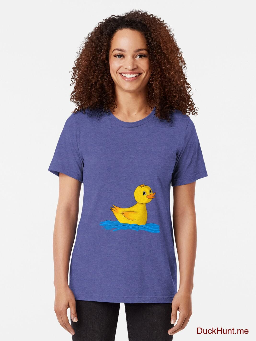 Plastic Duck Royal Tri-blend T-Shirt (Front printed) alternative image 1