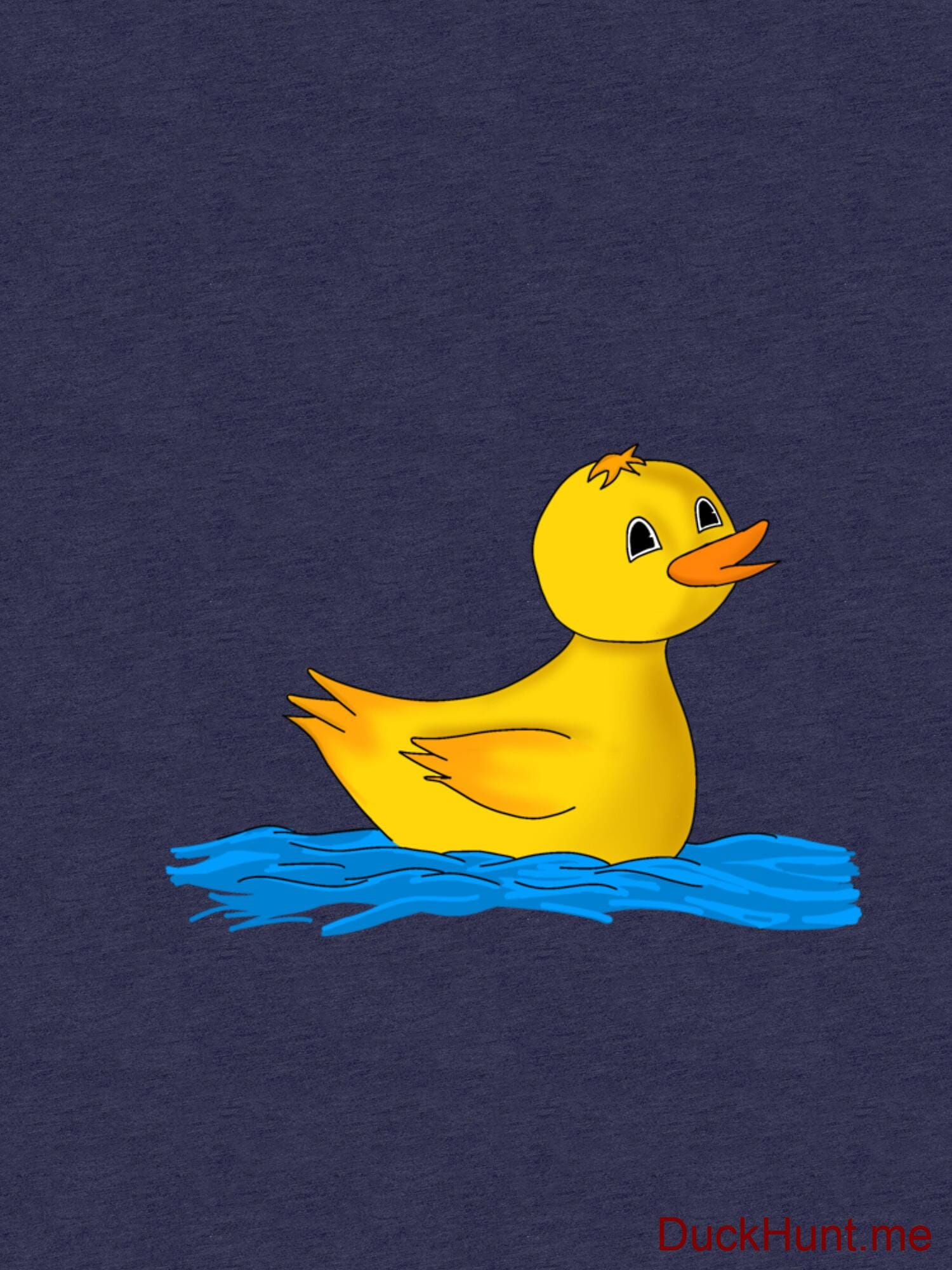 Plastic Duck Navy Tri-blend T-Shirt (Front printed) alternative image 2
