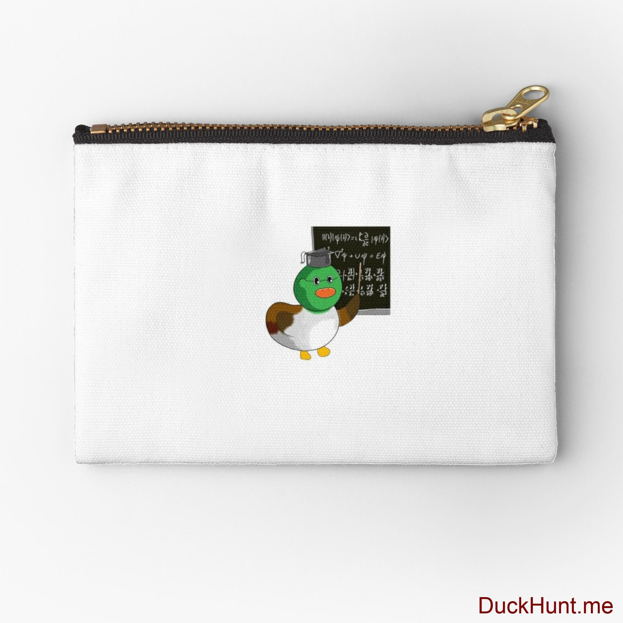 Prof Duck Zipper Pouch